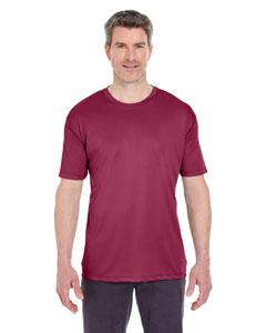 Maroon Men's Cool & Dry Sport Performance Interlock Tee