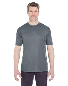 Charcoal Men's Cool & Dry Sport Performance Interlock Tee