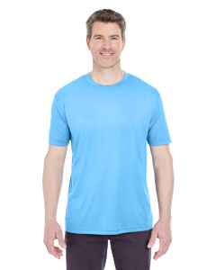 Columbia Blue Men's Cool & Dry Sport Performance Interlock Tee
