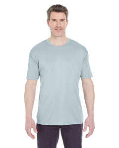 Grey Men's Cool & Dry Sport Performance Interlock Tee
