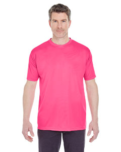 Heliconia Men's Cool & Dry Sport Performance Interlock Tee