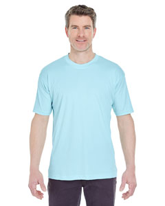 Ice Blue Men's Cool & Dry Sport Performance Interlock Tee