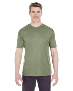 Military Green Men's Cool & Dry Sport Performance Interlock Tee