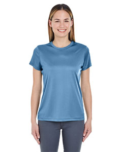 Indigo Ladies' Cool & Dry Sport Performance Interlock Tee