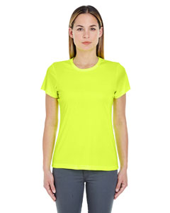 Bright Yellow Ladies' Cool & Dry Sport Performance Interlock Tee
