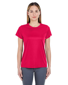 Red Ladies' Cool & Dry Sport Performance Interlock Tee