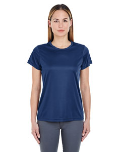Navy Ladies' Cool & Dry Sport Performance Interlock Tee