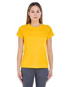 Gold Ladies' Cool & Dry Sport Performance Interlock Tee