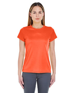 Orange Ladies' Cool & Dry Sport Performance Interlock Tee