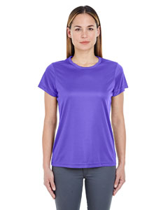 Purple Ladies' Cool & Dry Sport Performance Interlock Tee
