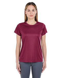 Maroon Ladies' Cool & Dry Sport Performance Interlock Tee