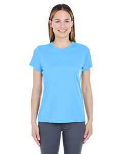 Columbia Blue Ladies' Cool & Dry Sport Performance Interlock Tee
