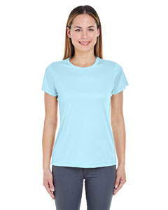 Ice Blue Ladies' Cool & Dry Sport Performance Interlock Tee