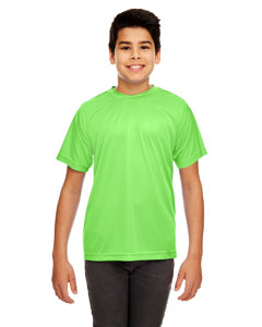 Lime Youth Cool & Dry Sport Performance Interlock Tee