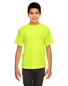 Bright Yellow Youth Cool & Dry Sport Performance Interlock Tee
