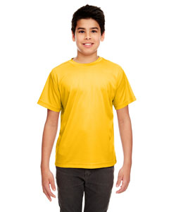 Gold Youth Cool & Dry Sport Performance Interlock Tee