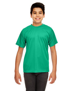 Kelly Youth Cool & Dry Sport Performance Interlock Tee