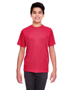 Cardinal Youth Cool & Dry Sport Performance Interlock Tee