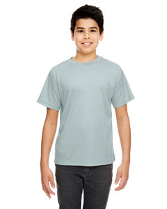 Grey Youth Cool & Dry Sport Performance Interlock Tee