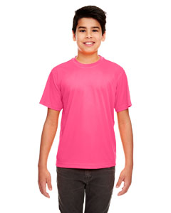 Heliconia Youth Cool & Dry Sport Performance Interlock Tee