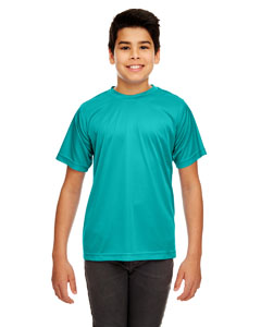 Jade Youth Cool & Dry Sport Performance Interlock Tee