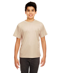 Sand Youth Cool & Dry Sport Performance Interlock Tee