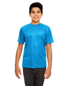 Sapphire Youth Cool & Dry Sport Performance Interlock Tee