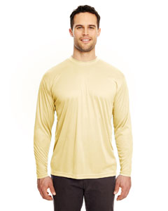Butter Adult Cool & Dry Sport Long-Sleeve Performance Interlock Tee