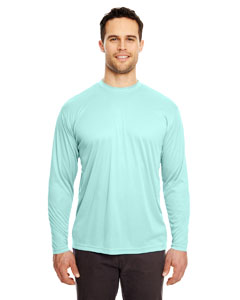 Sea Frost Adult Cool & Dry Sport Long-Sleeve Performance Interlock Tee