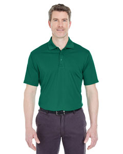 Forest Green Men's Cool & Dry Sport Performance Interlock Polo