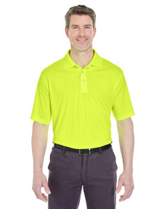 Bright Yellow Men's Cool & Dry Sport Performance Interlock Polo