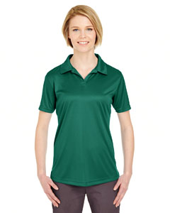 Forest Green Ladies' Cool & Dry Sport Performance Interlock Polo