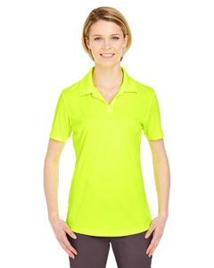 Bright Yellow Ladies' Cool & Dry Sport Performance Interlock Polo