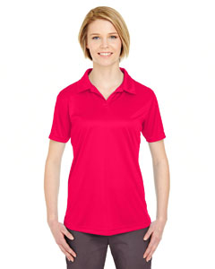 Red Ladies' Cool & Dry Sport Performance Interlock Polo