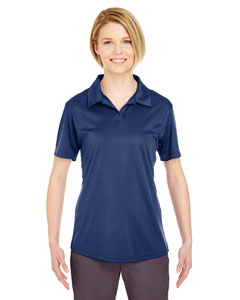 Navy Ladies' Cool & Dry Sport Performance Interlock Polo