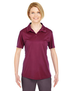 Maroon Ladies' Cool & Dry Sport Performance Interlock Polo