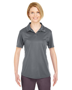 Charcoal Ladies' Cool & Dry Sport Performance Interlock Polo