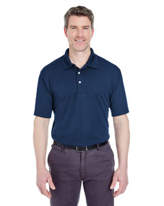 Navy Men's Cool & Dry Stain-Release Performance Polo