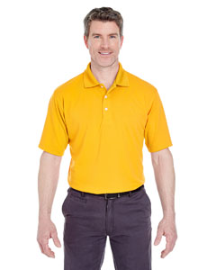 Gold Men's Cool & Dry Stain-Release Performance Polo