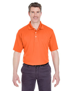 Orange Men's Cool & Dry Stain-Release Performance Polo