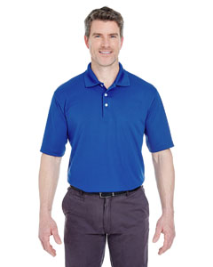 Cobalt Men's Cool & Dry Stain-Release Performance Polo