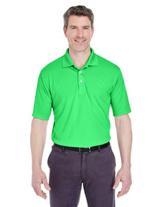 Cool Green Men's Cool & Dry Stain-Release Performance Polo