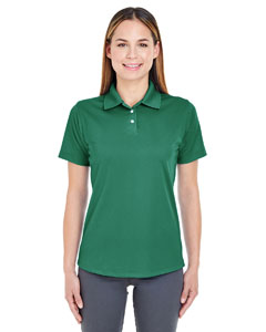 Forest Green Ladies' Cool & Dry Stain-Release Performance Polo