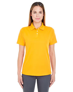 Gold Ladies' Cool & Dry Stain-Release Performance Polo