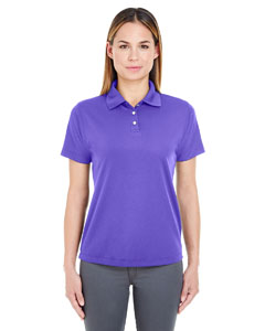 Purple Ladies' Cool & Dry Stain-Release Performance Polo