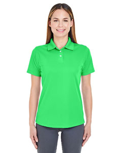 Cool Green Ladies' Cool & Dry Stain-Release Performance Polo