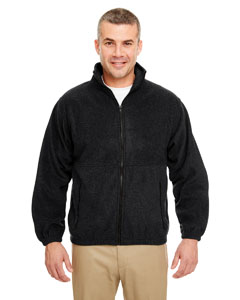 Black Iceberg Fleece Full-Zip Jacket