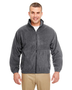 Charcoal Iceberg Fleece Full-Zip Jacket