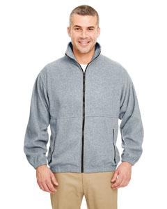 Grey Heather Iceberg Fleece Full-Zip Jacket