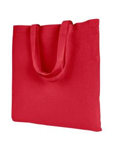 Red Branson Bargain Canvas Tote